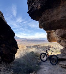 St George Utah Area Trip Feb 2018 day 3 (Doug Goodenough) Tags: st george utah saint snow canyon red rocks road trip camping trailer cg campground hike walk state park drg53118 drg53118p drg53118pstgeorge drg531 trek stache 29 plus bicycle bike cycle pedals spokes trail gravel grinding