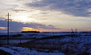 Sunrise (ella~d) Tags: sunrise morning winter snow sky colors landscape southdakota countryview