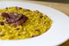 Risotto saffron and duck's speck (Luca Nebuloni) Tags: cibo food mangiaconme saffron risotto duckspeck zafferano anatra