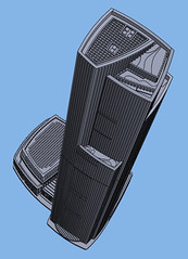 1:2000 CTF Finance Centre Spire (Doctor Octoroc) Tags: ctf chow tai fook finance centre center building skyscraper tower structure architecture tallest guangzhou china city 3dprinting shapeways