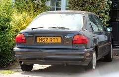 N67 RTY (Nivek.Old.Gold) Tags: 1996 ford mondeo 18 16v lx 5door johnrford shefford