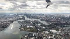 Flying - Manhattan Skyline New York City Central Park Midtown (robertfekete) Tags: triboro 432 park triborough empire freedom tower harlemriver eastriver