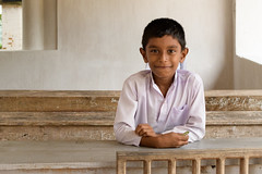 Boy (good.fisherman) Tags: boy school junior pupil schoolboy class room sri lanka