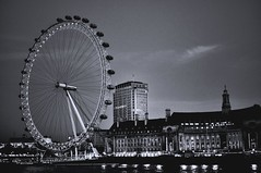 London Eye lights up in the evening. Beautiful different colours keep showing (NNJHA1971) Tags: eye london london'spride ferriswheel westminster streetphotography photography street stphotographia londoneye