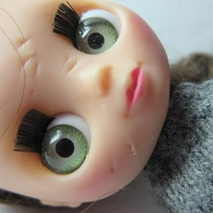 Scarred (jefalump) Tags: lpspetiteblythe doll macro macromondays imperfection