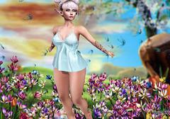 AWAKENING OF SPRING (PiRaTin 68) Tags: besom maitreya spirit swallow anc vinyl arcade kustom9 sorgo catwa