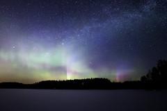 IMG_0139-Edit (Marko Pennanen) Tags: auroraborealis joensuu lumi night nightphotography nightsky northernlights revontuli snow talvi tähdet tähtitaivas winter milkyway linnunrata