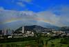 Valley of the Rainbow! (jcc55883) Tags: rainbow sky clouds manoavalley kapahulu alawai alawaiboulevard hawaii oahu honolulu alawaigolfcourse iolanischool palolovalley moiliili rainbows valleyoftherainbow muntains hawaiinei nikon nikond3200