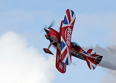 Pitts Special (Bernie Condon) Tags: scampton rafstation military aribase base station airshow 2017 flying display aircraft plane uk lincs royalairforce raf pittsspecial s1d biplane aerobatic acrobatic formation team stunt muscleplane