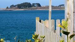 Seaview - Aberwrach (patrick_milan) Tags: sea marine water gate blue mer atlantic averwrach lannilis landeda