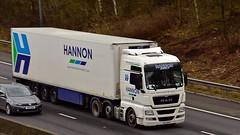 GXZ 2851 (Martin's Online Photography) Tags: man tgx truck wagon lorry vehicle freight haulage commercial transport nikon nikond7200 m62 j10 risley cheshire ireland