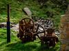 Water turbine, Kenidjack (Rogpow) Tags: bosweddenmine cornwall kenidjack mine kenidjackvalley abandoned derelict decay disused dilapidated rust rusty fujifilm fuji fujixpro2 engine listerengine peltonwheel waterturbine pump