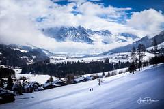 Leogang Alps Austria