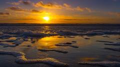 Beautiful Sunset (fotobutze) Tags: beach clouds northsea sky sunset denmark sun