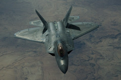 180305-Z-FF470-154 (U.S. Department of Defense Current Photos) Tags: 380aew aldhafraairbase uae afcent centcom airforce usairforce usaf airman f22raptor acc kc10extender iraq iq