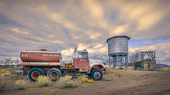 B. F. D. (emiliopasqualephotography) Tags: modena ghosttown ruins ruraldecay fire truck rust
