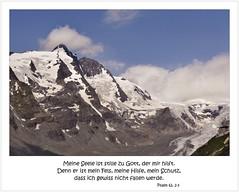 (Uli He - Fotofee) Tags: ulrike ulrikehe uli ulihe ulrikehergert hergert fotofee nikon nikond90 gletscher grosglockner grosglocknerhochalpenstrase hochalpenstrase schnee schneevongestern berge gott glaube fels schutz fallen psalm