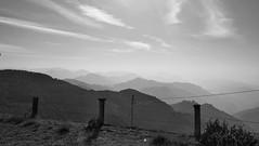 Beautiful Morning (devntl) Tags: morning blackandwhite hills clouds sky mist mountain
