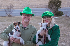 Happy St. Patrick's Day 2018 (marylea) Tags: mar17 2018 stpatricksday kevin dooley maddy parsonrussellterrier prt dogs puppies dog puppy terriers terrier