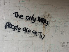 Bispham Graffiti (deltrems) Tags: bispham blackpool lancashire fylde coast graffiti vandalism bus shelter