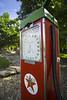 Cardrona Hotel - Petrol Pump (jaimilee.beale) Tags: newzealand south island travel nature cardrona hotel petrol bowser pump vintage red texaco star