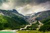 Palü Glacier, Graubünden, Switzerland (Rita Eberle-Wessner) Tags: switzerland schweiz graubünden alpen alps landschaft landscape gletscher glacier berge mountains gletscherzunge wasserfall waterfall lakepalü palüsee gletschersee wolken clouds bergbach bach bäche creek gipfel wald peak forest grass gras palüglacier palügletscher