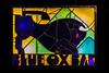 Blue Ox Bar (Robert Wash) Tags: oregon or pacificnorthwest northwest mounthood mthood timberlinelodge timberline blueoxbar sign stainedglass