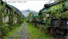 El tren fantasma.  (Canfranc- Osca - Espanya).