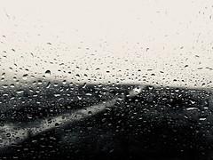 Drive (sjpowermac) Tags: car headlight drive rain road doubt ribblehead lonely window raindrops streaks tears sadness