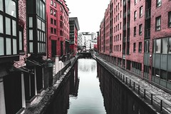 MCR Canals Urban Style (aris.sfakianos) Tags: manchester england uk europe canals river urban city architecture desaturated reflections depthoffield brick walls walk