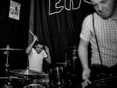 Grade 2 (morten f) Tags: guitar grade 2 live konsert concert 2018 music musician monochrome enga pub oslo norge norway punk street band sid bass bassist drums drummer jack