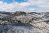 A snow-covered Red River Gorge, Appalachia (sniggie) Tags: easternkentucky kentucky redriver redrivergorge butte clouds sandstone sky snow winter mountain landscape danielboonenationalforest