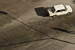 415 - Cuba Crossroads || (kosmekosme) Tags: cuba crossroads cubacrossroads|| lada old soviet havana habana city lahabana street urban shadow lantern shadows oldcar historic historical oldtimer russiancar russian people travel travelling move movement rusty classic wheels wheel transport d80 1600 lada1600