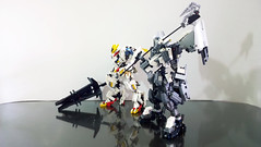 LEGO Gundam Gusion Rebake Full City & Gundam Barbatos Lupus Rex (demon1408) Tags: lego gunda gusion rebake full city asw 11 iron blooded orphans tekkadan technic bionicle robot mecha figure creation moc toy đồ chơi con đường 08 lupus rex người