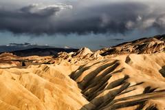 Zabriskie Point (erichudson78) Tags: usa california deathvalleynationalpark zabriskiepoint paysage landscape canoneos6d canonef24105mmf4lisusm ciel sky nuages clouds sunsetlight goldenlight