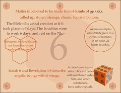 6, uses of six (Martin LaBar) Tags: 6 six hexagon dice die honeycomb number numeral sechs cube seis