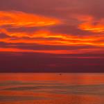 Apocalyptic sunset in the sea near Koh Lanta, Thailand     XOKA3149s thumbnail