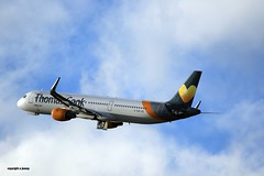 Thomas Cook G-TCDK J78A1509 (M0JRA) Tags: thomas cook gtcdk manchester airport planes flying jets biz aircraft pilot sky clouds runways