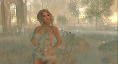 Bidding adieu to Mystical Fae Forest (Shantell90) Tags: secondlife sl girl sim mystical fae forest tears landscape trees grass magical