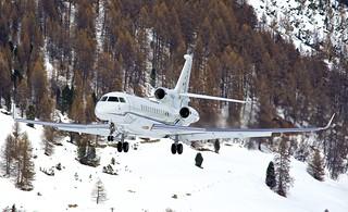 SMV/LSZS: Dassault Falcon 7X C-GLXC