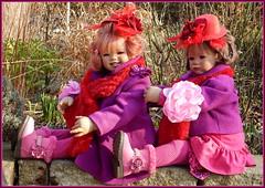 Sanrike und Milina ... (Kindergartenkinder) Tags: kindergartenkinder annette himstedt dolls gruga grugapark essen milina sanrike