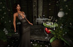 Magical Diva's Night (kare Karas) Tags: woman lady femme girl girly diva night elegance elegant seduce seductive sensual pretty cute beauty avatar virtual secondlife fun game event outdoors furniture sets gown lipsticks applier bento mesh colors hud liziaah avada cjcreations swankevent