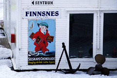 Finnsnes (kfinlay) Tags: norway norge scandinavia nordic chocolate arctic harbour port hurtigruten