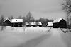 Norwegian nature (steffos1986) Tags: nature landscape farm winter snow ice blackwhite blackandwhite norway norwegen noruega norge steinberg pentaxkx smcpentax1855 wideangel farmland hill clouds sky contrast view scenery scenic