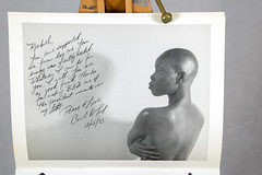 DSC_0438 Bald Black & Beautiful A Portrait of Three Woman Calender by Carol Tart Philadelphia B&W Michael you have supported me from day one. Your energy was greatly needed. Whatever I can do for you I will.  You are a good friend. Thanks for making BBB o (photographer695) Tags: bald black beautiful a portrait three woman calender by carol tart philadelphia bw jan 1 1994 michael you have supported me from day one your energy was greatly needed whatever i can do for will good friend thanks making bbb dearest moments life peace love d dec 5th 1993
