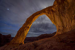 Corona Arch (McKendrickPhotography.com) Tags: greatphotographers nightscape coronaarch moab utah greatestphotographers greaterphotographers