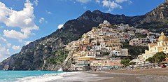 Positano, getting ready for the tourist season (jjamv) Tags: jjamv julesvtravel positano amalfi agerola maiori minori ravello amalficoast sea mountains clouds landscape sorrento italy italia campania coastline unesco outdoor cliff mountain mountainside costieraamalfitana mobilephotographyboat water sky buildings capri mare beach coast napels napoli naples blue martirreno mediterranea sorrentopeninsula penisolasorrentina townscape skyscape seascape paesaggio mediterraneo amalfidrive tourism juliusvloothuis unescoworldheritagesite djimavic djimavicpro mavicpro