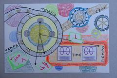 Défi dessin jour 14 : le temps qui passe (mmarple62) Tags: défidessin drawingchallenge crayon dessin drawing temps time