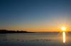 Ducks in the Morning (ramseybuckeye) Tags: williams reservoir allen county ohio morning sunrise water ducks blue sky