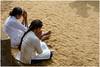 NAMASTE ... (miriam ulivi - OFF /ON) Tags: miriamulivi nikond7200 tempiobuddista buddhisttemple donne women sabbia sand